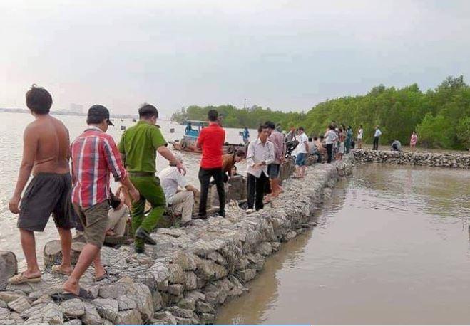 Tìm kiếm nam học sinh lớp 7 đuối nước mất tích ở Đồng Nai 1