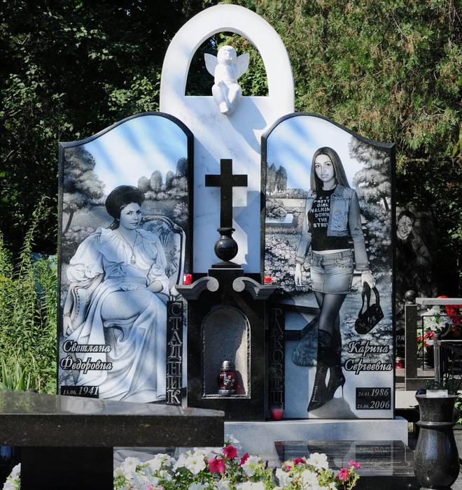 Nghĩa trang mafia tại Nga: Bia mộ chạm khắc toàn thân to như người thật, nhà lầu xe hơi cũng có luôn 17