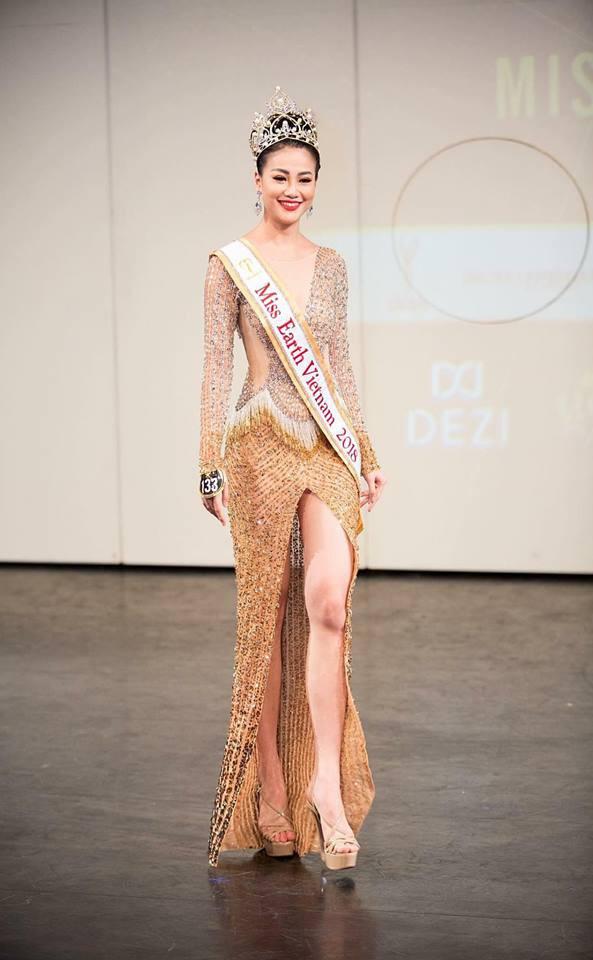 Nhan sắc nóng bỏng của mỹ nhân vừa đăng quang Hoa hậu Trái đất, đem vinh quang về cho Việt Nam 9