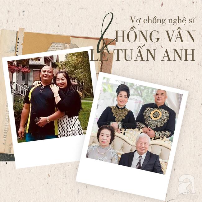 Chuyện tình Hồng Vân – Lê Tuấn Anh: Khi vợ đứng trên đỉnh vinh quang vẫn có bờ vai vững chắc của chồng 6