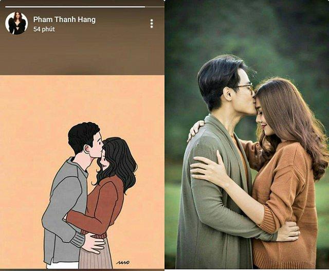 Siêu mẫu Thanh Hằng bất ngờ tung ảnh ngọt ngào, nhắc khéo