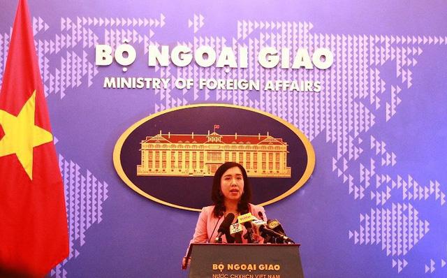 Hình ảnh Bộ Ngoại giao lên tiếng về Trịnh Xuân Thanh và quan hệ Việt - Đức số 1