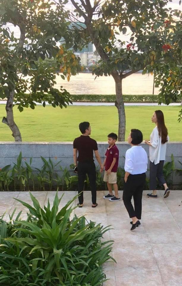 Hình ảnh Cường đô la, Đàm Thu Trang dẫn Subeo đi xem nhà chuẩn bị cho đám cưới? số 2
