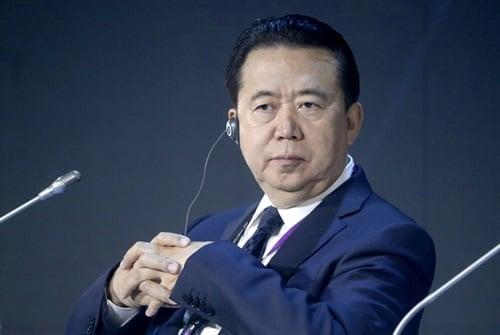 Hình ảnh Interpol buộc phải chấp nhận đơn từ chức của cựu chủ tịch người Trung Quốc số 1