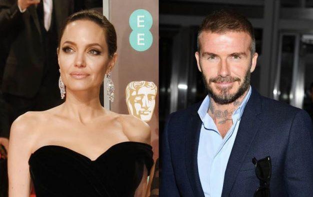 Angelina Jolie lại tán tỉnh một người đàn ông có gia đình, lần này là David Beckham? 1