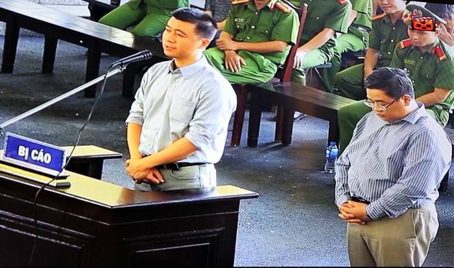 Hình ảnh 60 giây chất vấn gay gắt của ông trùm Phan Sào Nam tại HĐXX