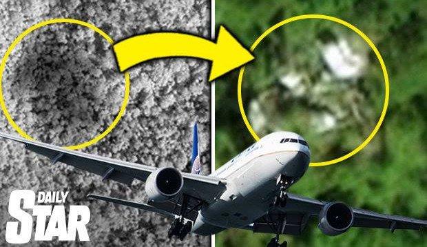 Thêm bằng chứng MH370 trong rừng Campuchia 1