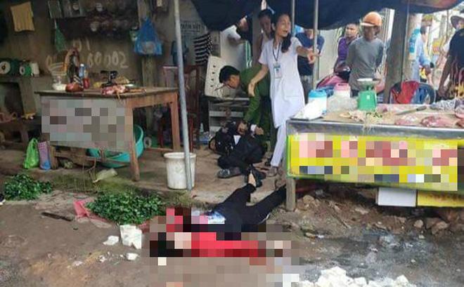 Nghi phạm bắn chết người phụ nữ bán đậu ở Hải Dương đã tử vong 1