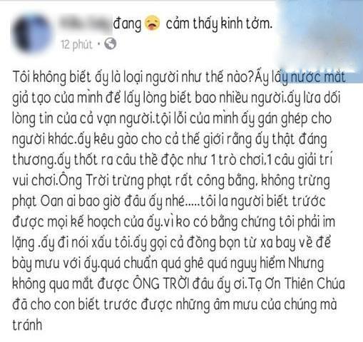 Chị gái Kiều Minh Tuấn bất ngờ vạch mặt Cát Phượng