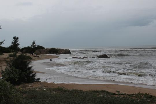 Bà Rịa - Vũng Tàu xuất hiện sóng cao 3m do bão số 9 1