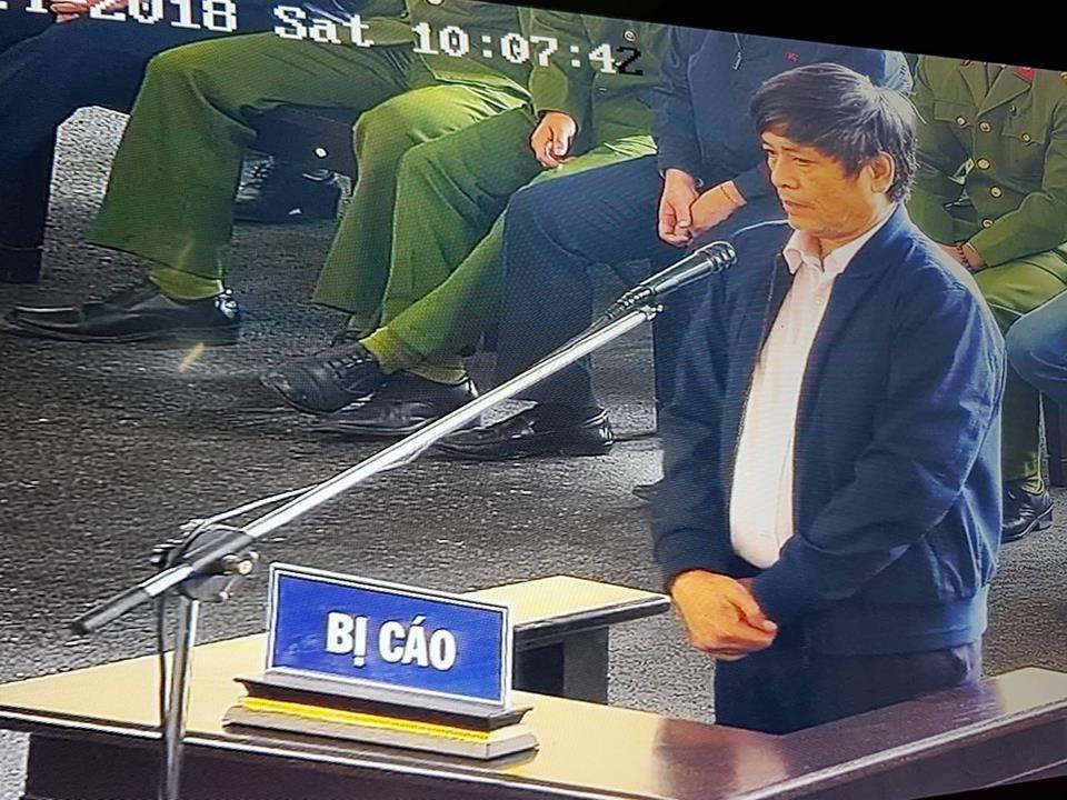 Cựu cục trưởng C50 Nguyễn Thanh Hóa xin giảm nhẹ hình phạt về chịu tang mẹ 1