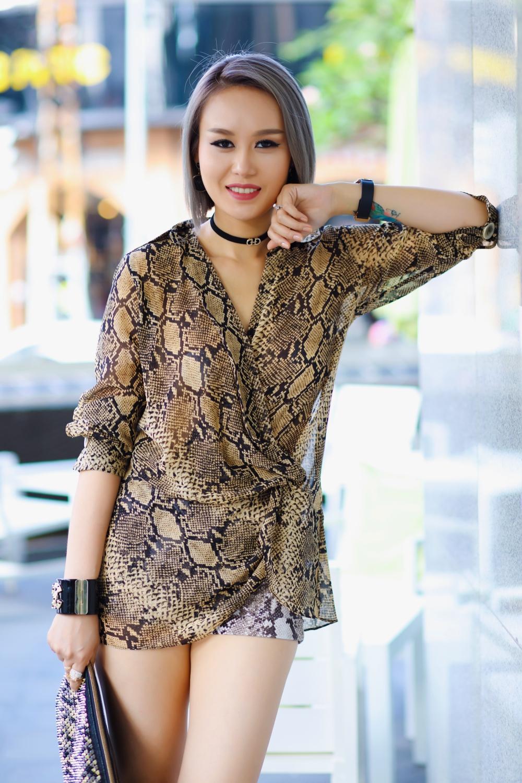 Cô con gái nuôi nóng bỏng làm nghề DJ ít biết của ca sĩ Ngọc Sơn 6