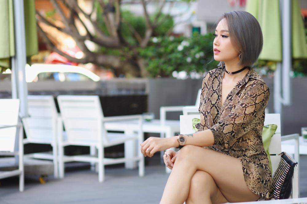 Cô con gái nuôi nóng bỏng làm nghề DJ ít biết của ca sĩ Ngọc Sơn 4