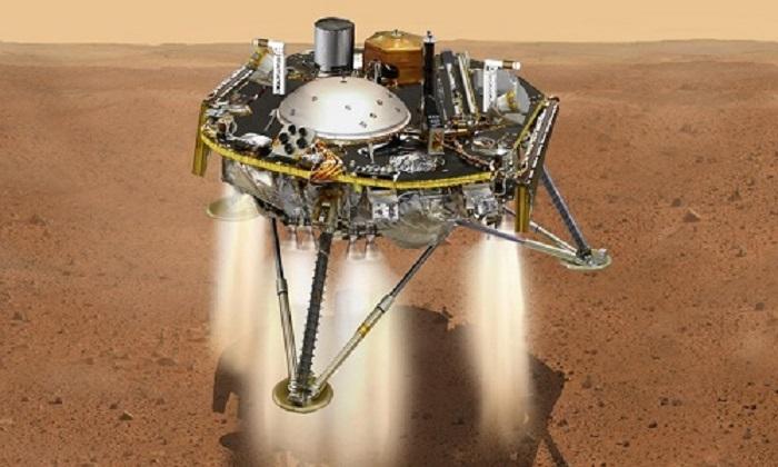 Tàu NASA vượt qua '7 phút kinh hoàng', đáp an toàn xuống bề mặt hành tinh sao Hỏa 1