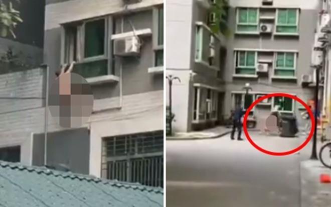Chồng nhân tình bất ngờ về nhà đột xuất, người đàn ông mình trần đánh đu ngoài cửa sổ 2