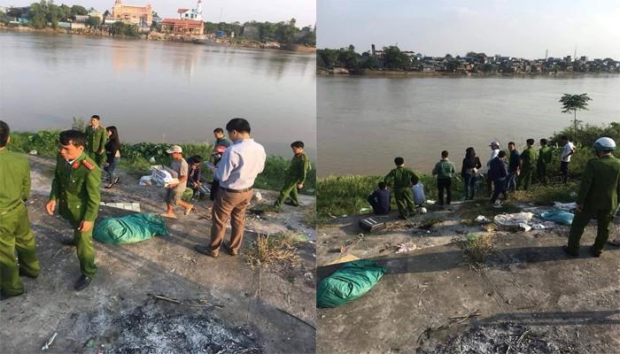 Vụ phát hiện thi thể bé trai sơ sinh ở bờ sông: Nạn nhân còn sống trước khi bị bỏ vào túi nilon 1