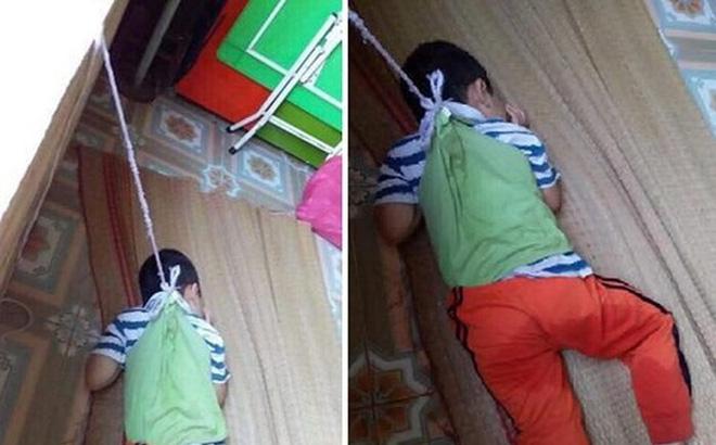 Thông tin mới vụ 2 cô giáo buộc dây vào người bé trai 4 tuổi cột lên cửa sổ ở Nam Định 1