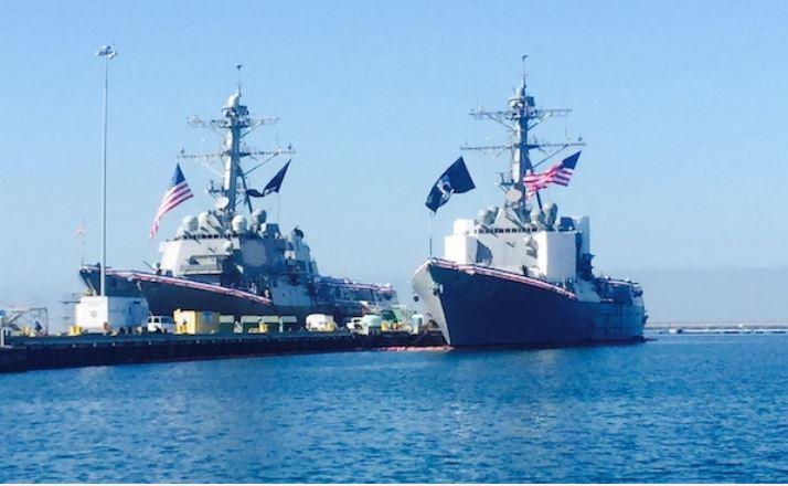Mỹ cử hai tàu Hải quân qua eo biển Đài Loan bất chấp sự phản đối của Trung Quốc 1