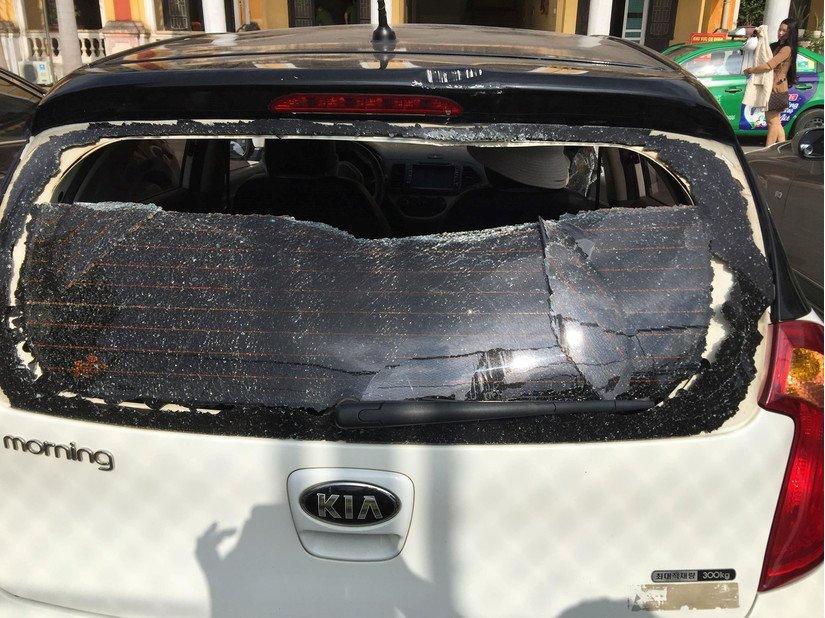 Vụ cô gái lao xe vào CA tỉnh cầu cứu: Người chồng bất ngờ lên tiếng