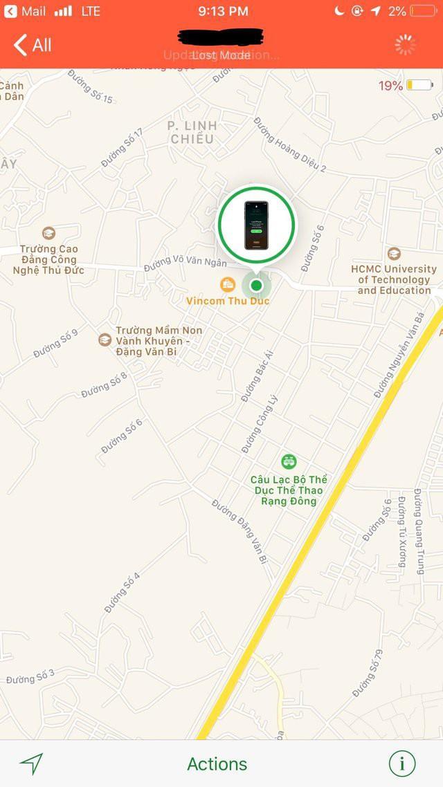 Một anh chàng bị trộm mất iPhone X tại San Francisco, 4 tuần sau tính năng Lost Mode thông báo chiếc iPhone đang ở Việt Nam 2