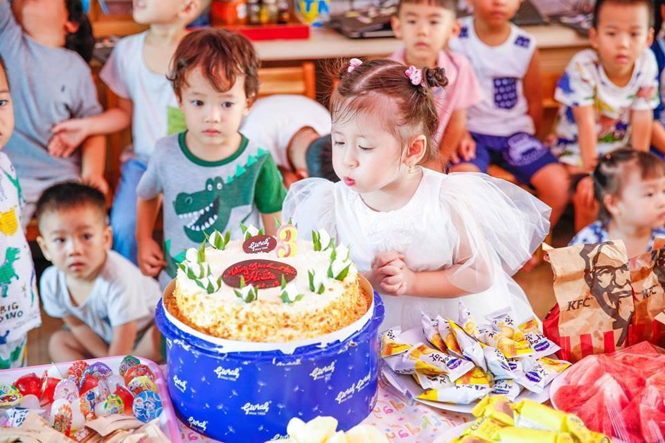 Trang Trần tổ chức sinh nhật cho con gái 3 tuổi, bất ngờ tiết lộ bí mật giấu kín nhiều năm 3