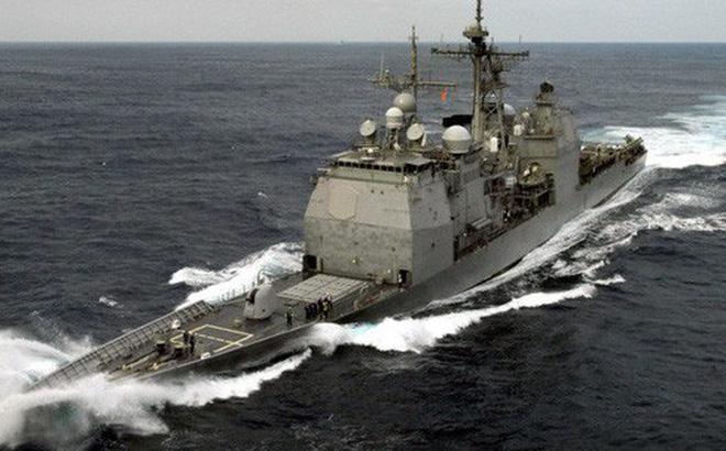 Tàu tuần dương Mỹ đến gần Hoàng Sa thách thức Trung Quốc 1