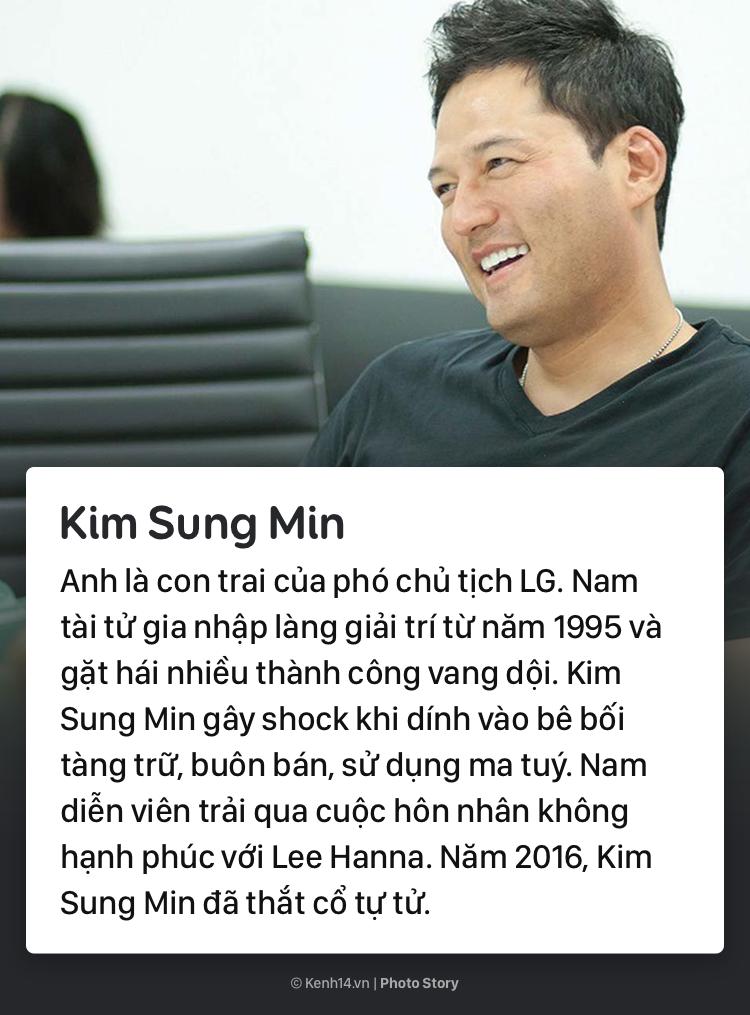 Những diễn viên Hàn Quốc xuất thân trâm anh thế phiệt nhưng lại có cuộc đời hoàn toàn trái ngược 4