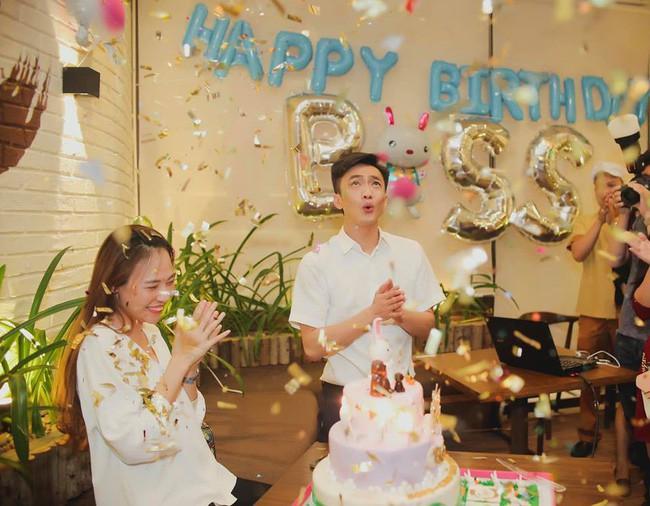 Cường Đô La phá bỏ hình ảnh doanh nhân thường thấy, trổ tài 'diễn sâu' như nhân vật chính trong tiệc sinh nhật Đàm Thu Trang 5
