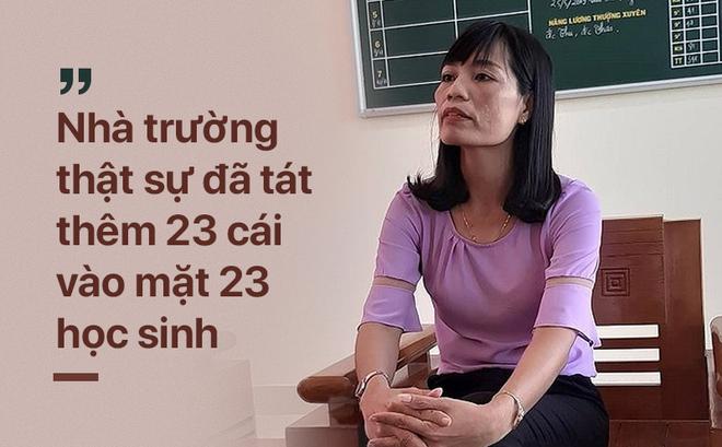 'Hỏi cung' học sinh sau vụ phạt tát 231 cái: Hiệu trưởng trường THCS Duy Ninh bị yêu cầu kiểm điểm 2