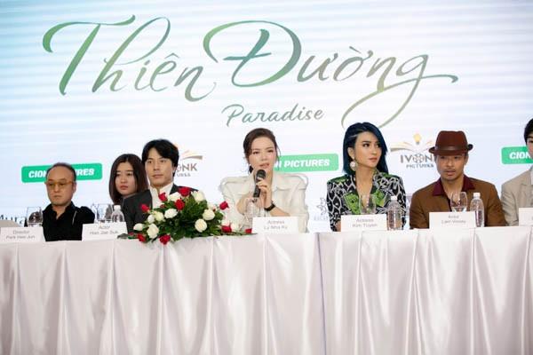 Nghi vấn phim điện ảnh với tài tử đình đám xứ Hàn vỡ nợ, Lý Nhã Kỳ lên tiếng: 'Bản thân tôi cũng là nạn nhân sau khi NSX biến mất' 5