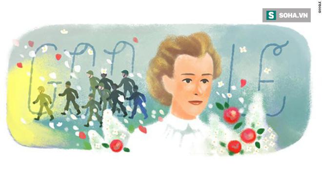 Trang chủ Google 4/12 vinh danh Edith Cavell - Nữ y tá anh hùng thời Thế chiến I 1
