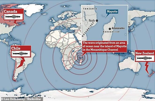 Bí ẩn hiện tượng địa chấn rung chuyển cả hành tinh trong 20 phút đã có lời giải 1