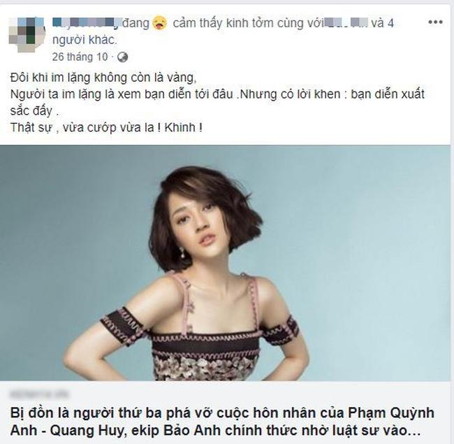Cư dân mạng đào mộ lại phản ứng của mẹ Bảo Anh được cho là ám chỉ Phạm Quỳnh Anh giữa tâm bão 1