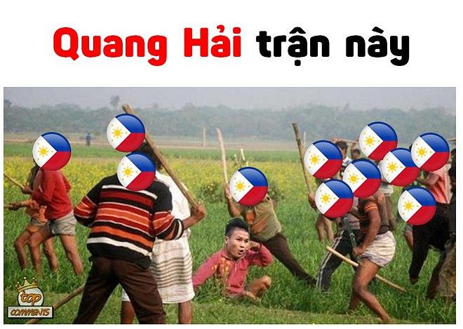 Hình ảnh Ảnh chế Công Phượng, Quang Hải sau trận gặp Philippines ngập tràn MXH số 9