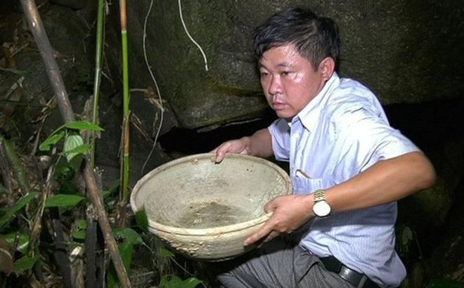 Phát hiện hang nghi cổ vật bí hiểm ở Thanh Hóa 1