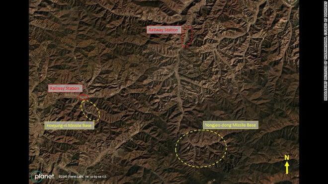 Hình ảnh Thời sự thế giới ngày 6/12: Lộ ảnh Triều Tiên ngấm ngầm xây căn cứ khủng giấu tên lửa số 1