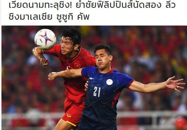 Báo Thái Lan: Việt Nam đã giành chiến thắng vàng! 1