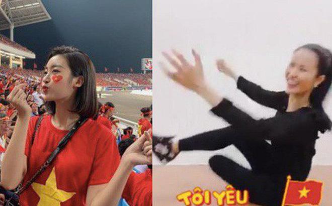 Dàn sao Vbiz đang ăn mừng tuyển Việt Nam vào chung kết: Mỗi người một kiểu, ai cũng vui nổ trời! 1