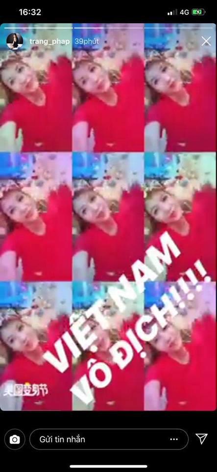 Dàn sao Vbiz đang ăn mừng tuyển Việt Nam vào chung kết: Mỗi người một kiểu, ai cũng vui nổ trời! 10