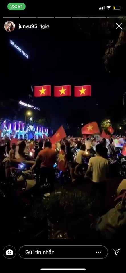 Dàn sao Vbiz đang ăn mừng tuyển Việt Nam vào chung kết: Mỗi người một kiểu, ai cũng vui nổ trời! 11