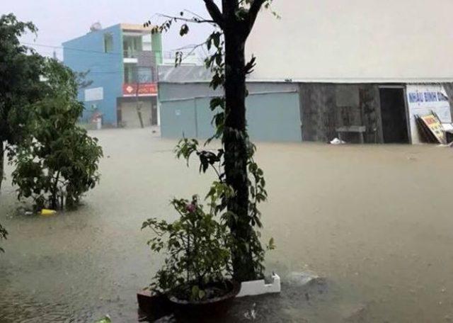 Chùm ảnh: Đà Nẵng mênh mông biển nước sau trận mưa to lịch sử 10