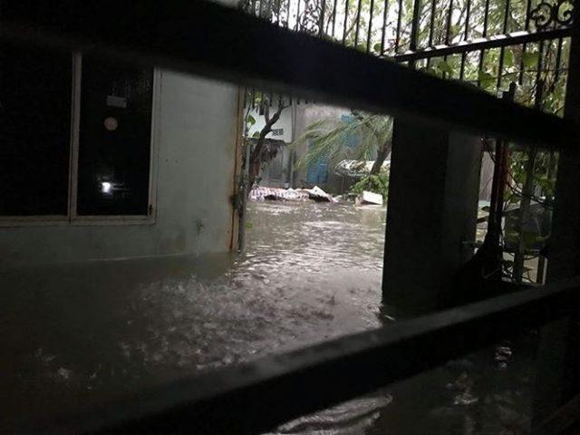 Chùm ảnh: Đà Nẵng mênh mông biển nước sau trận mưa to lịch sử 12