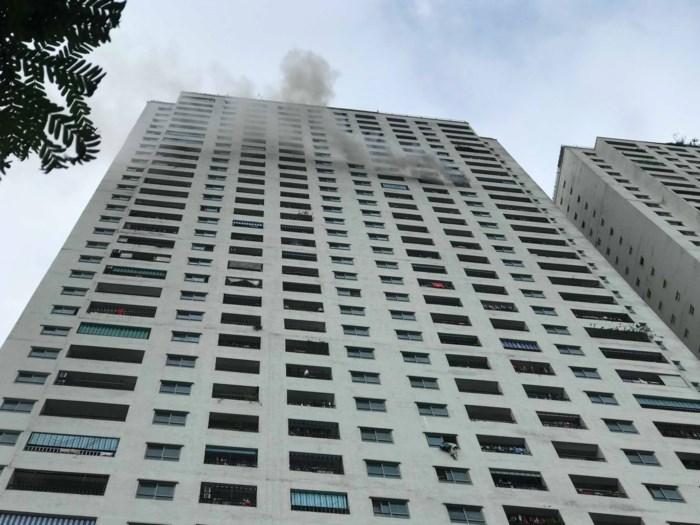 Vụ cháy ở tầng 31 chung cư HH Linh Đàm: Phát hiện một phụ nữ tử vong 1