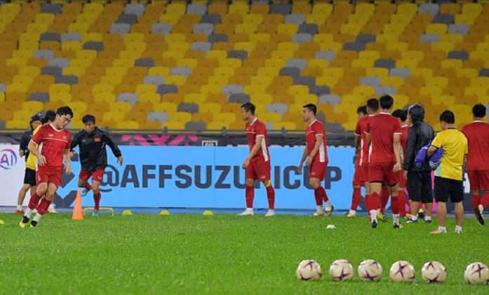 Đội tuyển Việt Nam đón tin vui trước trận chung kết gặp Malaysia 1