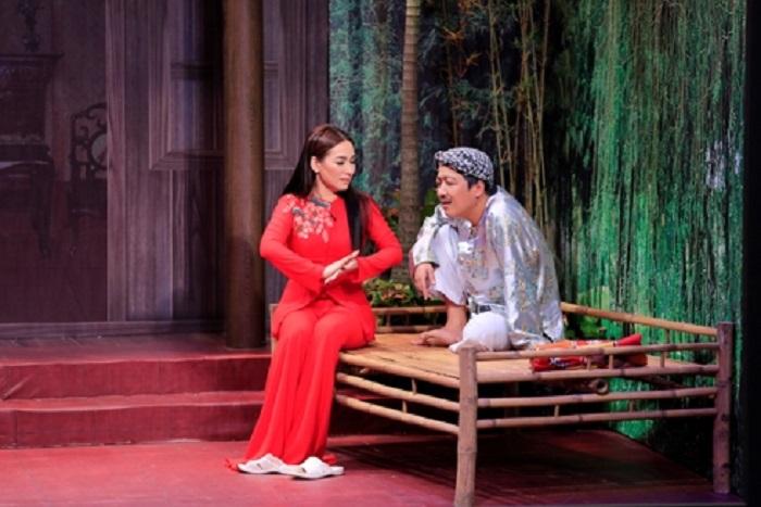 Phi Nhung bất ngờ hé lộ danh tính người yêu trên sân khấu khiến Trường Giang 'ngã ngửa' 1