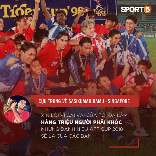 """Sasikumar: """"Xin lỗi vì đã làm hàng triệu người Việt Nam phải khóc, nhưng AFF Cup 2018 là của các bạn"""" 2"""