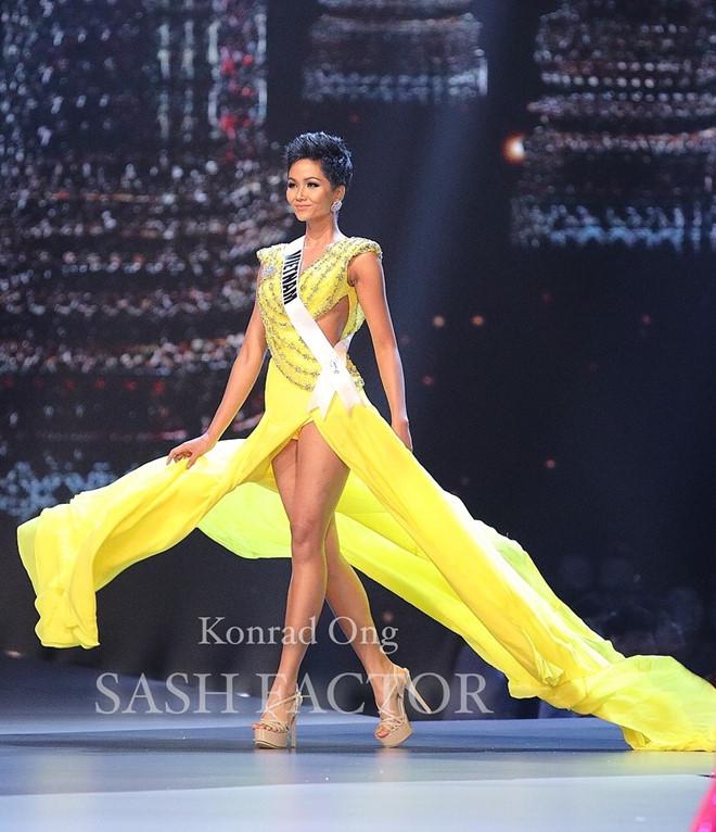 H'Hen Niê nổi bật nhất trong đêm bán kết Hoa hậu Hoàn vũ Thế giới 2018, khán giản vỗ tay rầm rầm 3