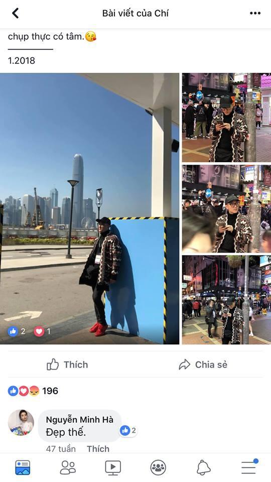 Cư dân mạng tìm ra bằng chứng tố Chí Nhân bí mật hẹn hò MC Minh Hà 6