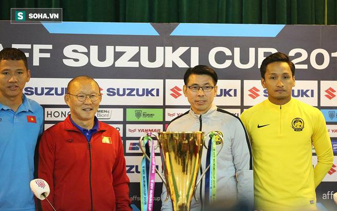 Trước đại chiến, thầy Park đáp trả cáo buộc đá xấu, gây chấn thương cho cầu thủ Malaysia 1