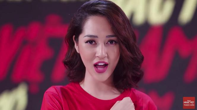 Giải trí - Sao Việt cùng hòa giọng trong ca khúc cổ vũ đội tuyển Việt Nam tại AFF CUP 2018